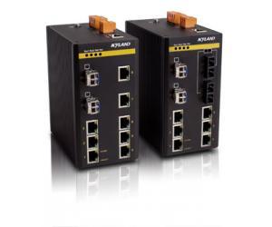 SICOM3000 - Управляемый коммутатор Layer 2: 8+2G порта, установка на Din-Rail, IEC61850