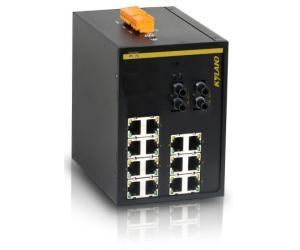 KIEN3016A - Неуправляемый 16-ти портовый коммутатор Green Ethernet, на DIN-Rail