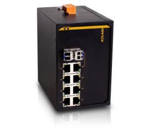 KIEN1008G - Неуправляемый гигабитный 8-ми портовый коммутатор Green Ethernet, на DIN-Rail