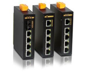 KIEN1005A - Неуправляемый 5-ти портовый коммутатор Green Ethernet, на DIN-Rail