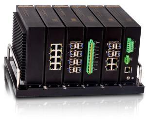SICOM6000 - Коммутатор модульный управляемый Layer 3: 24+4G порта, IEC61850