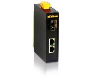 KOM300A - Медиаконвертер: 1 оптический порт 100M и 2 порта 100М RJ45