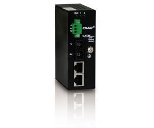 KOM300F - Компактный медиаконвертер: 1 оптический порт 100M и 2 порта 100М RJ45