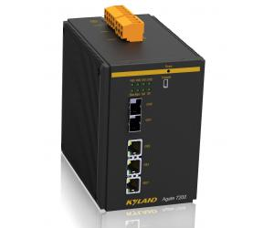 Agate7200 - Security Ethernet Gateway на DIN-рельс с 2G комбо-портами