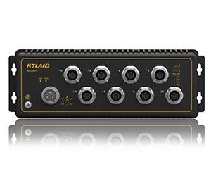 Aquam8 - Неуправляемый коммутатор IP67: 8 x 100M портов, EN50155
