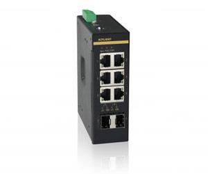 Opal8GV - Неуправляемый гигабитный коммутатор L2: 6GE+2GX портов, на Din-Rail