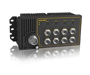 Aquam8S - Неуправляемый коммутатор IP65 с PoE: 8 x 100M портов, EN50155