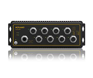 Aquam8G - Неуправляемый коммутатор IP65:8 x 1000M портов, EN50155