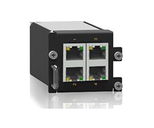 SM6.6-4GE-1U - Ethernet модуль 4x10/100/1000Base-T(X) RJ45 порта