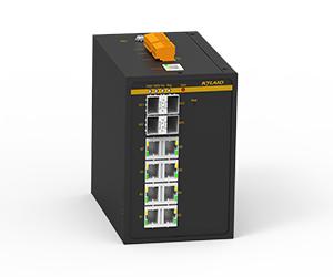 SICOM6000A - Управляемый коммутатор Layer 3, 12G/8 + 4G портов, монтаж на DIN рейку.