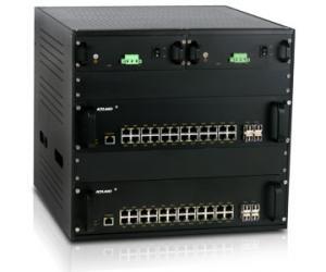 """SICOM6496 - Управляемый модульный коммутатор Layer 3, 48G/96+8G портов, установка в 19"""" конструктив, IEC61850. Предназначен для ядра системы"""