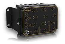 Aquam8012A - Управляемый коммутатор L2 с PoE: 8+4G/9+3G портов, c bypass, EN50155, IP67