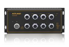 Aquam8S - Неуправляемый коммутатор IP67 с PoE: 8 x 100M портов, EN50155