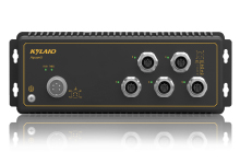 Aquam5 - Неуправляемый коммутатор IP67: 5 x 100M портов, EN50155