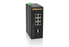 SICOM3008GV - Управляемый гигабитный коммутатор L2: 6GE+2GX портов, на Din-Rail