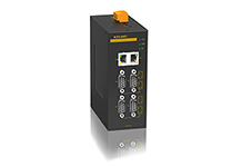 KPS3204 - 4-портовый асинхронный сервер 4 RS232/422/485 + 2 10/100Base RJ45