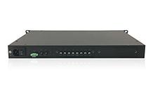PTD-10 - Time Distributor на DIN Rail: 2 входа 16 выходов IRIG-B